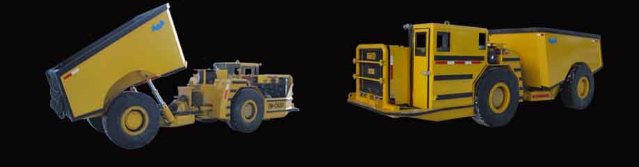 TRIDENT 20 TON HAUL TRUCK WITH ROPS/FOPS CAB cw HEATING AND AIR CONDITIONING
